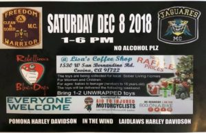 Come join us in our annual Toy Drive This Saturday Night